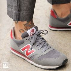 grey and pink new balance 373