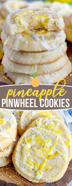 Pineapple Pinwheel Cookies are the showstoppers you've been looking for! The pineapple cheesecake filling is perfectly matched by the simple & sweet almond flavored cookie dough & is sure to be a hit w/friends & family! Pineapple Cheesecake, Pineapple Cookies, Pineapple Recipes, Lemon Cookies, Pumpkin Cheesecake, Cheesecake Recipes, Best Nutrition Food, Health And Nutrition, Nutrition Articles