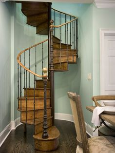 Spiral staircase with history