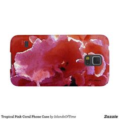 Tropical Pink Coral Phone Case