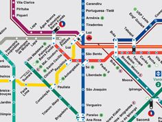 Check your trip, visit the Network Map, draw your route and see the opening hours of each station – São Paulo Metrô. Metro Sp, Line Chart, Panda, Maps, Subway Map, Travel, Pandas