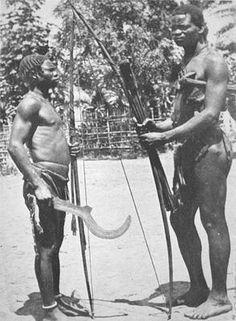 Congo, traditional waepons
