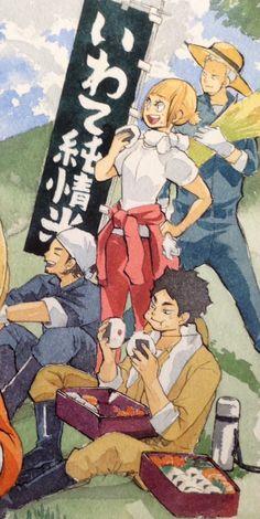 How does Akaashi eat so much but stay so skinny and pretty like what I need his secrets Bokuto Koutarou, Akaashi Keiji, Kuroo Tetsurou, Kuroken, Bokuaka, Me Anime, Anime Manga, Anime Art, Haikyuu Volleyball