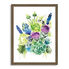 Minted for west elm - Wild Succulent #westelm