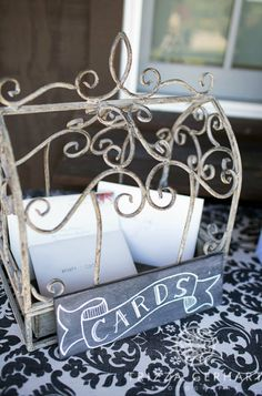 Etsy shop with chalkboard wedding signs for guestbook, cards, gift table, etc