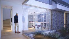 Familijny 1 - DOMY Z WIZJĄ Modern House Design, Ideas, Modern Home Design, Modern Houses, Contemporary Home Design