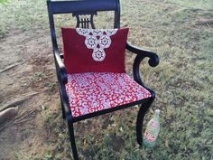 antique chair redone