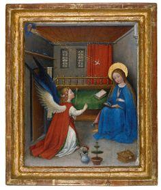 Oberrheinischer Meister: Annunciation