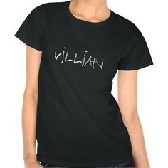 VILLIAN tee Black Ladies