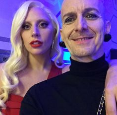 Lady Gaga and Denis O'Hare