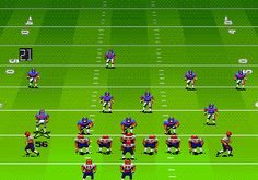 John Madden '93. Sega Megadrive.