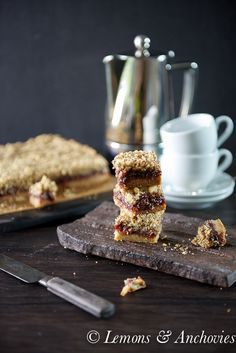 Fig Bars - Made these this weekend and used my homemade fig jam.  Goodness they are amazing!!
