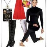 Katniss Everdeen costume idea--I'm not sure about the unitard, but it's an option. Katniss Everdeen Costume Ideas, Hunger Games Costume, Halloween Costumes, Dress Up, Celebrities, Tops, Women, Fashion, Moda