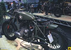 bmw army 02 Custom, concept and one off motorcycles @Mary Eichelberger 2013