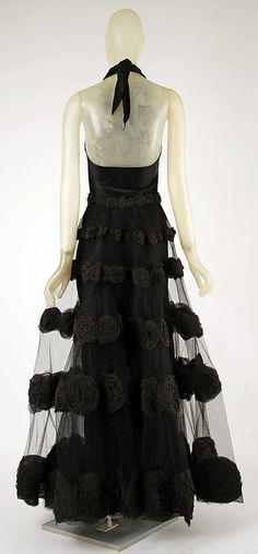 "The Metropolitan Museum of Art - ""Carnival Dress"" Madeleine Vionnet  (French, Chilleurs-aux-Bois 1876–1975 Paris)   Date: 1936 Culture: French Medium: silk Back"