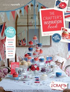 If you fancy getting your knit on for the Diamond Jubilee check out this Crafter's Inspiration book by RU craft