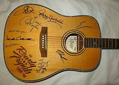 2008 Autographed Guitar from The Rowdy Friends Tour