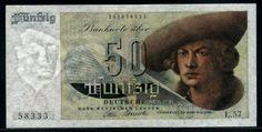 Currency of Germany 50 Deutsche Mark banknote of 1948, Bank Deutscher Länder