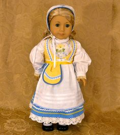 $89.00  RESERVED FOR N.S. American Girl 18 inch by Calyxadollcreations