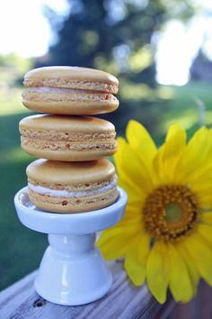 butterbeer macarons recipe + more Harry Potter/ Fantastic Beasts and Where To Find them recipes, crafts and party ideas