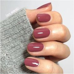 40 Gorgeous Fall Nail Art Ideas To Try This Fall 40 Gorgeous Fall Nail Art Ideas To Try This Fall<br> Are you looking for fall nail designs 2018 that are excellent for fall? See our collection full of fall nail designs acrylic nails. Mauve Nails, Dark Nails, Rose Nails, Metallic Nails, Metallic Gold, Dark Color Nails, Dark Colors, Fall Nail Art, Fall Nail Colors