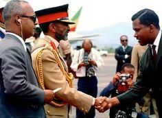 Negusa Nagast Kedamawi Hayl Selasse (Emperor Haile Selassie I) Visited Trinidad & Tobago on April 18, 1966, then Jamaica on April 21, 1966