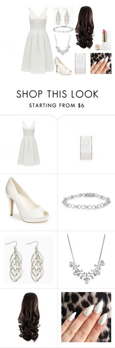 """Untitled #39"" by katdancer ❤ liked on Polyvore featuring Forever New, Menbur, Givenchy and Guerlain"