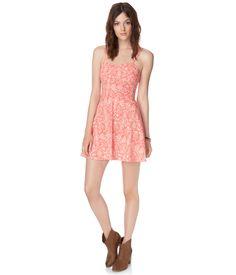 Floral Flair Dress - Aeropostale
