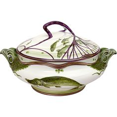 @ Hermann Gradl, Soup Tureen, Nymphenburg, 1900. Have to pin it here so I remember to look for this to buy lol