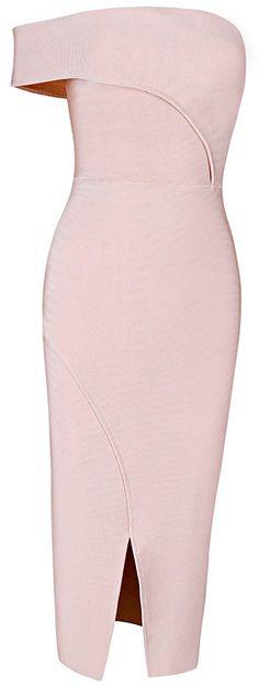 Dream it Wear it - Asymmetric Bardot Bandage Dress Pink, £89.95 (http://www.dreamitwearit.com/bandage-dresses/asymmetric-bardot-bandage-dress-pink/)