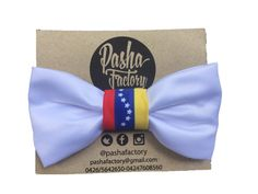 Bow Tie Venezuela 1c  Peace, Liberty, Hope and Love for Venezuela.  Designed for Pasha Factory.  Shop online at www.solamado.us