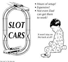 The truth behind slot car sets.