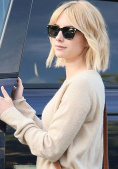 Emma Roberts seen leaving the 901 Salon on June 11, 2016