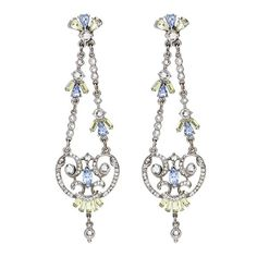 The Crystal Collage Collection Measurements: x Metal: Silver-tone Metal Swarovski Crystal Hypoallergenic French Post Made in the USA Swarovski Crystals, Most Beautiful, Collage, Chandelier, French, Drop Earrings, Usa, Metal, Silhouettes