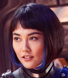 Mako Mori from Pacific Rim. I love the peekaboo blue!
