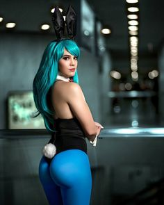 Bulma from Dragon Ball by Amber @ instagram.com/oikatsudon - More at https://pinterest.com/supergirlsart #dragonball #cosplay #girl #hot #sexy #cosplaygirl #bunny