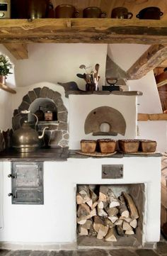 I've seen plans for building your own outdoor kitchen stove/oven area. maybe it would work inside in a cob house too? Cob House Kitchen, Kitchen Stove, Kitchen Decor, Kitchen Design, Kitchen Wood, Kitchen Small, Vintage Kitchen, Kitchen Country, Kitchen Ideas