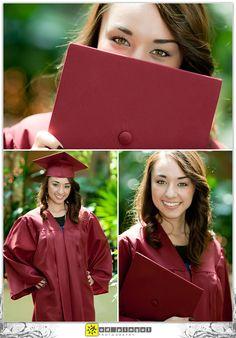 nicole's senior graduation portrait - walnut creek vintage high school