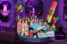 Camp Themed Bat Mitzvah Centerpiece - BAT MITZVAHS