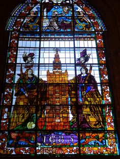 stained glass / Seville Cathedral