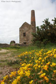 Wheal Peevor, Cornwall, usually tin mines.  (Poldark)
