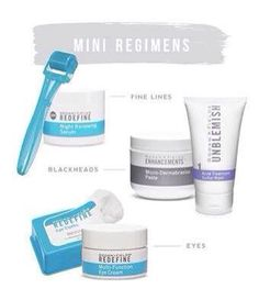 Not ready to jump in and buy a full regimen? Try a mini! Some of our mini's! http://caugello.myrandf.com/