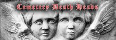Photographs of Cemetery Death Heads - Visit the gallery at www.amandanorman.com