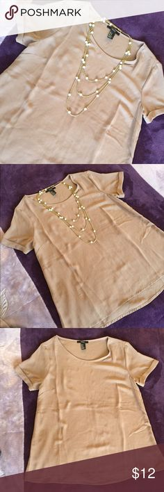 Sheer top New without tags Forever 21 Tops Blouses