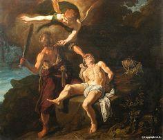 Le sacrifice d'Abraham, 1616, Pieter Lastman, Musée du Louvre Paris