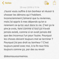 Desmauxsurmemos sur Instagram : Rupture amoureuse. • • • #texteamour #oublier #memos #ecrire #texte #ruptureamoureuse #rupture #desmauxsurmemos #histoire #histoires…