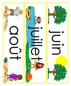 lots of French printables for primary