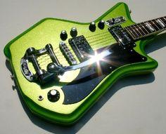 Metallic Margarita Airline Guitar