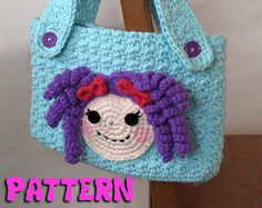 PATTERN: Lalaloopsy Inspired Crochet Purse