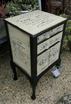 Shabby Chic Decor Easy Tips Tricks - Classy help to plan a really chic shabby chic home decor vintage Fantasticalnote pinned on this unforgetful day 20190206 , note reference 8518359696 Decoupage Furniture, Funky Furniture, Paint Furniture, Furniture Projects, Furniture Makeover, Furniture Sale, Furniture Design, Furniture Chairs, European Furniture